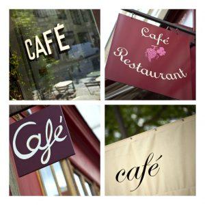 飲食店の看板